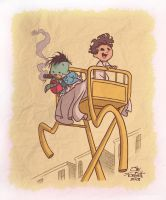 LITTLE NEMO AND FLIP by JayFosgitt