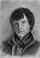 Benedict Cumberbatch as Sherlock Holmes by RusCoollGirl