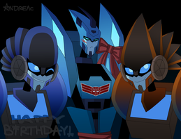 BLURR WITH A BOW by ANDREAc