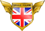 Brave Police Crest - Scotland Yard by Erilmadith-Everyoung