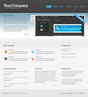 Company Template by DxDesigns