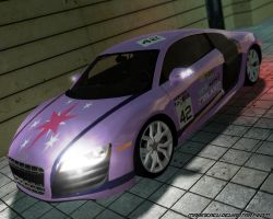 MLP Cars: Twilight Sparkle Audi R8 5.2 V10 by MarineACU