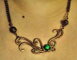 Wave - Necklace by Carmabal