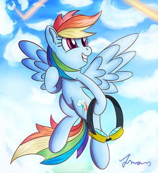 The Wonderbolt Dream by Atmosseven