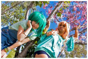 Macross Frontier : two by kim-tram