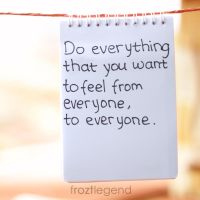 Do Everything that you want to Feel by froztlegend