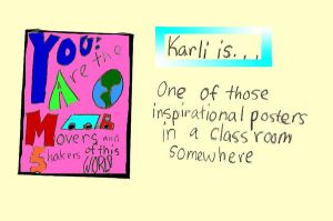 Karli is a poster by CaliAli16