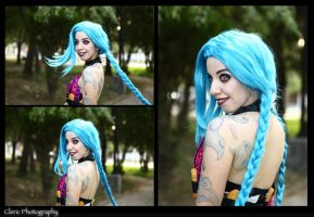 Jinx The loose Cannon by ClericVionv