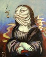 Mona Lisa The Fish by ellemrcs