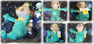 Sergei (Space Dog) Plush by Diffeomorphism