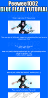 Blue flare sig tutorial PS. by peewee1002