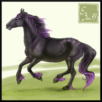[Art Payment] Cobalte Steel the Northstar by BUGHS-22