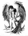 How can an angel... by carlostattoo