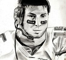 Tebow Sketch by Jamin95
