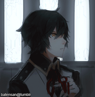 (GIF) Until we meet again, Ren! by batensan