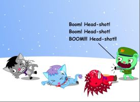 Snowball warriors 2 by GoneIn10Seconds