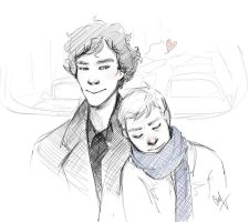 Johnlock by LiaBatman
