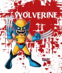 LIL WOLVERINE  slice and Dice by Chadfuller