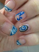 Hearthstone Nails by bebe1221