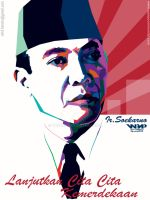 THE PROKLAMATOR OF INDONESIA  IN WPAP by YUHEND