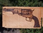 Colt Walker 1847(Pyrography) by CptMaximum9001