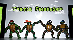 Teenage mutant friendship by HjBoY