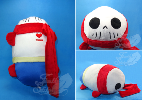 Papyrus Burrito Tsum by FeatherStitched