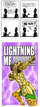 As fast as lightning by poipopoi