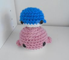 Micro and Mini Whale with Pattern! by StitchedLoveCrochet