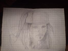 Johnny Depp Drawing by JACPhotography