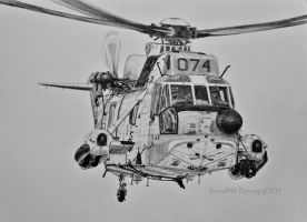 Sea King Mk43B 074 by SindreAHN