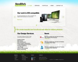 Website design for New and York client by djnick2k