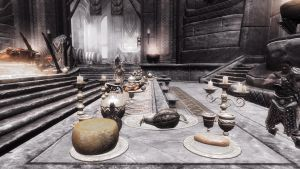 Sovngarde's Hall of Heros by Solace-Grace
