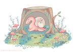 small friend without a name by Paleona