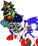 Sonic Universe 50 fan coloring. by uberdude3252