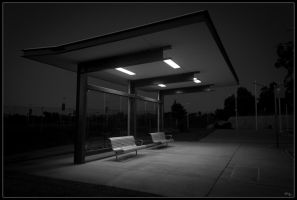 Bus Shelter by DCPhotographics