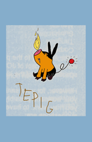 Tepig by ElvisDitto