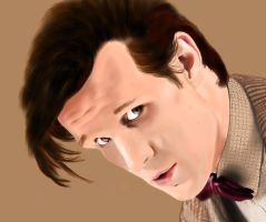 The eleventh Doctor by apdrea