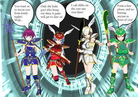 Harem Party Valkyries by quamp