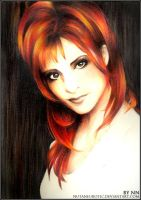 Mylene Farmer by NutaNeurotic