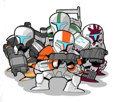 Republic Commando Delta Squad by JoelRCarroll