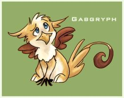 Gabble Gryphon by gabfury