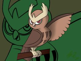 Noctowl by heyitsmyles