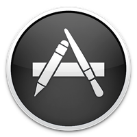 Black App Store Icon by TheArcSage
