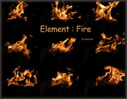 Element : Fire by Gwathiell