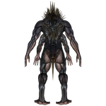 DAZ 3D (Studio): Baryolax #1: Level 4 (Back View) by Blood-PawWerewolf