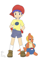 Poke-Padding Mascot Daniel by TurtwigChampion