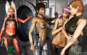Sith Girls Gang by Dendory