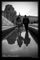 Louvre reflections by Kemao