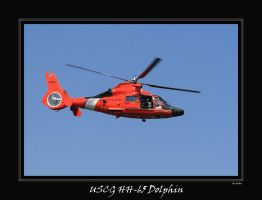 USCG HH-65 Dolphin by OpticaLLightspeed